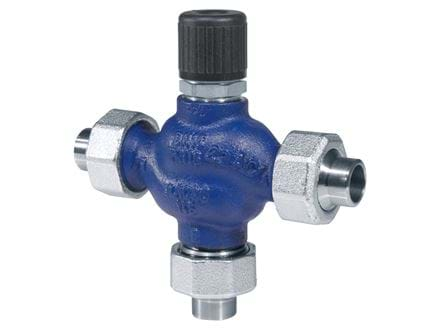 3-way valves, DN15-40, cast iron, 5.5 mm stroke
