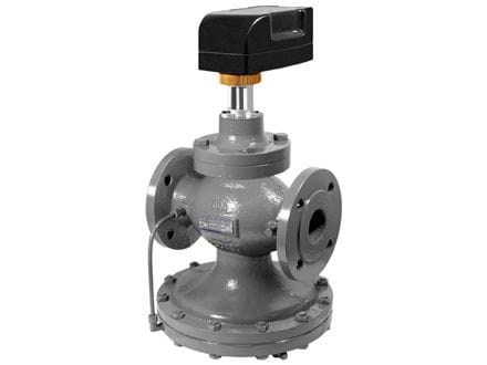 PCMTV DN50-150 - Pressure independent control valves, flanged with actuator included